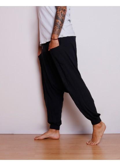 Pantalón Aladino Masculino Negro lado
