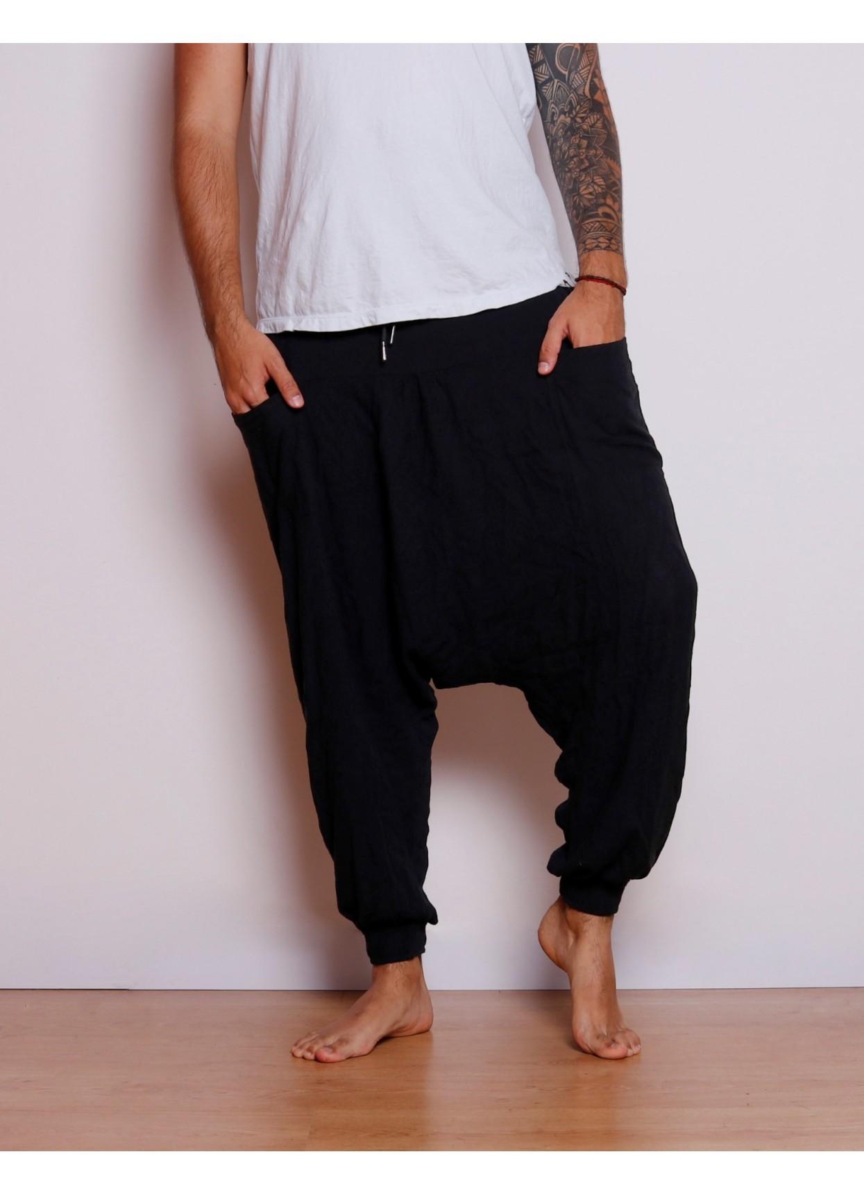 Pantalón Aladino Masculino Negro 3