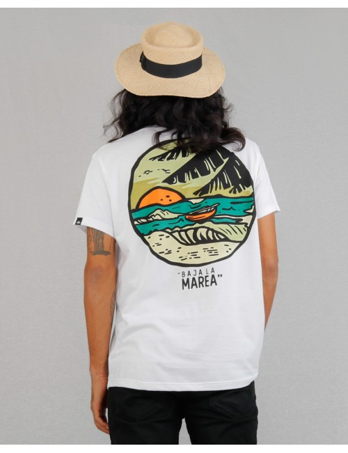 Camiseta de hombre Baja la Marea.