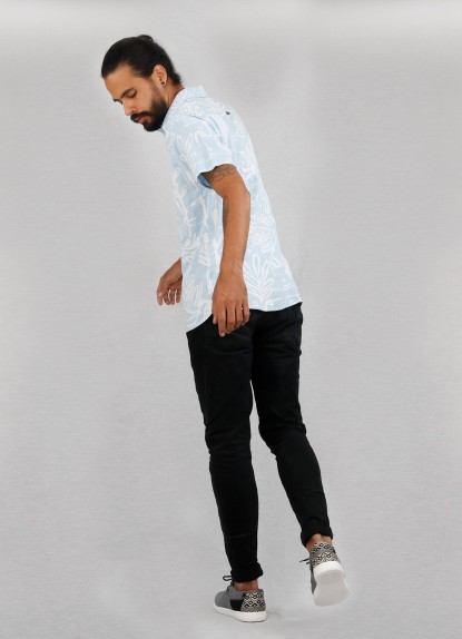Camisa de hombre Recortes De Papel.