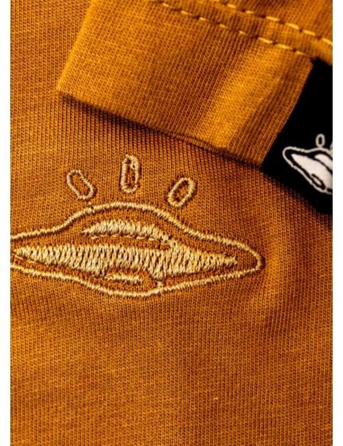 Camiseta básica de hombre Ocre.