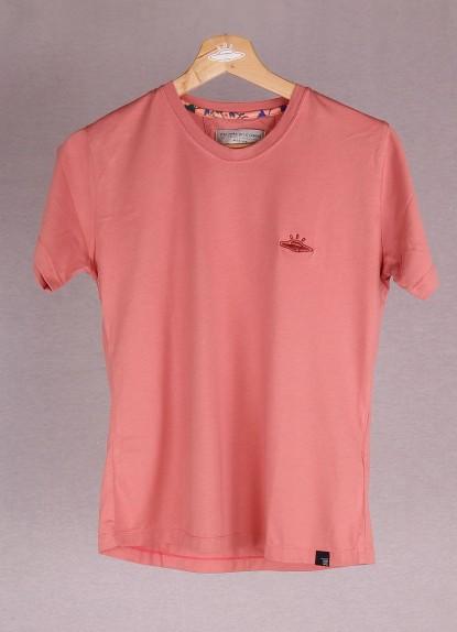 Camiseta de mujer básica Ovni Coral.