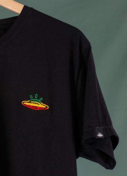 Camiseta de hombre UFO rasta.