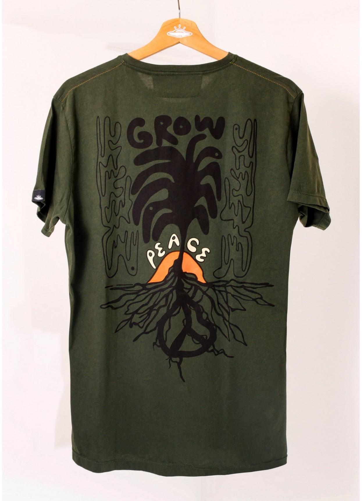 Camiseta de hombre Grow Your Peace.