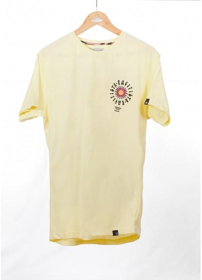 Camiseta Pacifista para hombre. Hecha a mano en Medellín, Colombia.