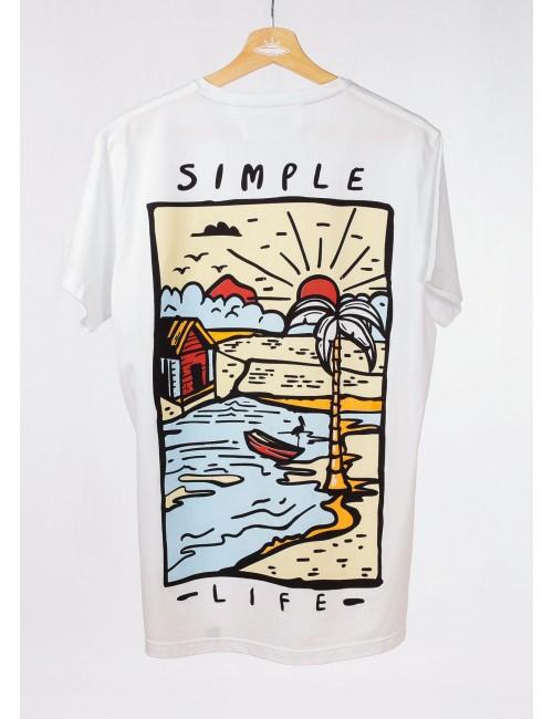 Camiseta Vida Simple para Hombre