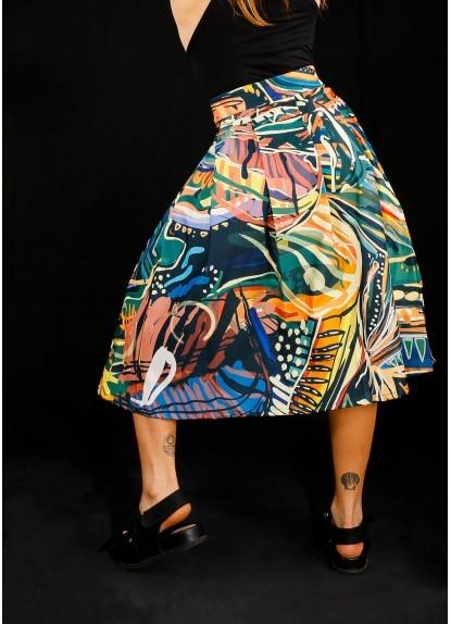 Falda Mambé para mujer
