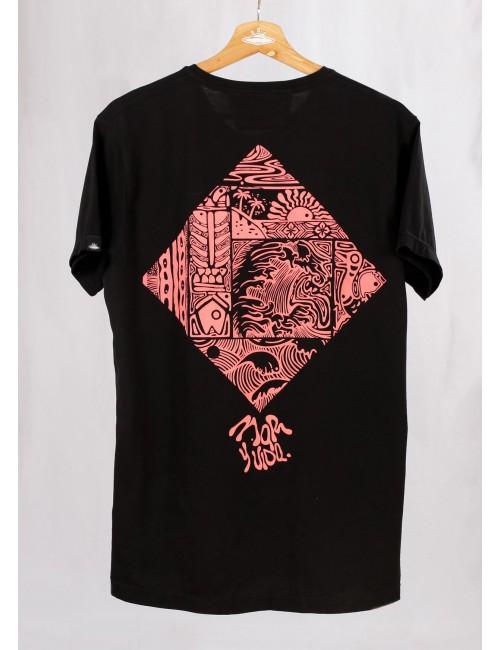 Camiseta Mar y Vida para Hombre