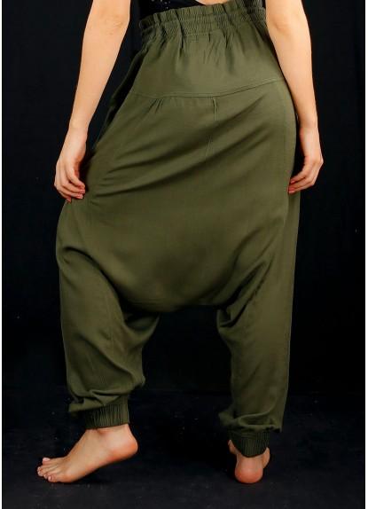 Pantalón Aladino VerdeMilitar para mujer